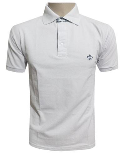 Camisa Polo Dudalina Branca - Ref 2018  - ACKIMPORTS