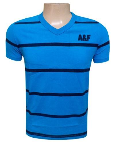 Camiseta Abercrombie Azul Royal - AF113  - ACKIMPORTS