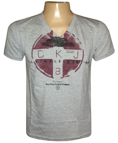 Camiseta Calvin Klein Cinza CK0909  - ACKIMPORTS