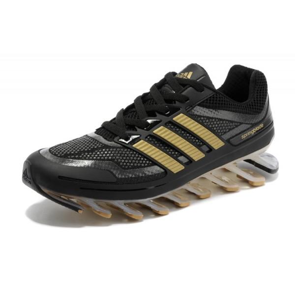 Adidas Springblade Razor - Preto e Dourado  - ACKIMPORTS