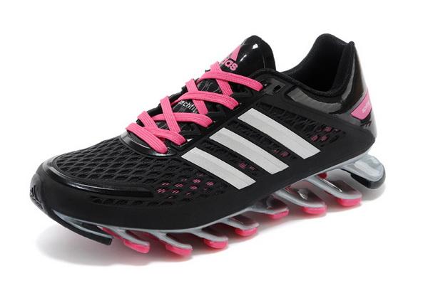 tenis adidas springblade rosa com preto