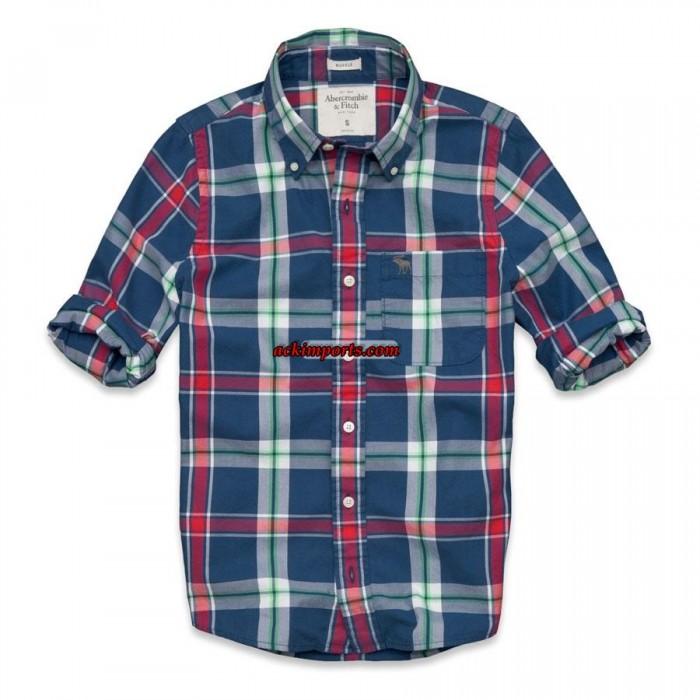 Camisa Xadrez Abercrombie AF4019  - ACKIMPORTS