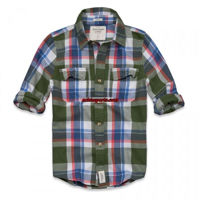 Camisa Xadrez Abercrombie AF4022  - ACKIMPORTS