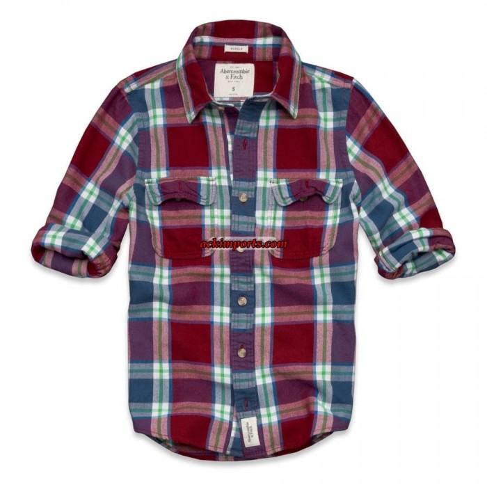 Camisa Xadrez Abercrombie AF4023  - ACKIMPORTS