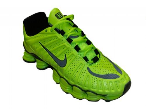 Shox TLX Verde Fluorescente e Preto  - ACKIMPORTS