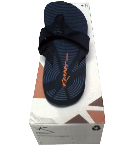 Chinelo Kenner Striff Preto  - ACKIMPORTS
