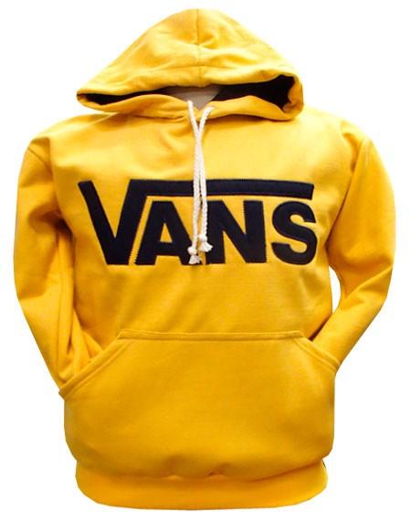 Blusa de Moleton Vans Amarelo Ref VN22  - ACKIMPORTS