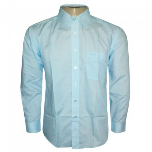 Camisa social Hugo Boss Azul Claro HB67  - ACKIMPORTS