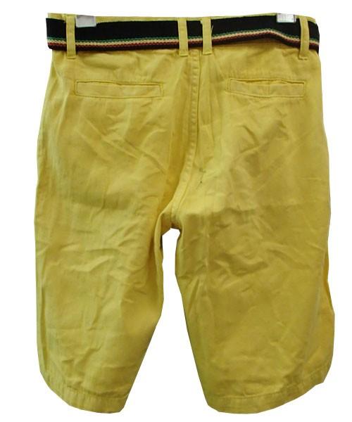 Bermuda Jeans Sergio K Amarelo Ref KKP  - ACKIMPORTS