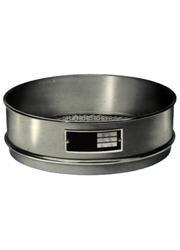 Peneira para agitador de peneiras dimensões 8 x 2 pol. em alumínio aberturas de 25 até 63 microns