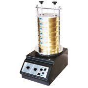 Agitador de peneiras eletromagnético (análise granulometrica) + 6 peneiras, tampa e fundo