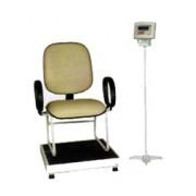 Balança antropométrica Eletrônica capacidade 300 kg, para pesagem do paciente sentado WELMY BALANÇAS