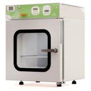 Estufa a vácuo digital microprocessada, para testes e secagem de produtos com atmosfera controlada