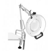Lupa iluminada articulada de mesa LED Bivolt, aumento 8X