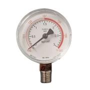 Manômetro para autoclave vertical reto escala 3Kg/cm2 ate 143ºC