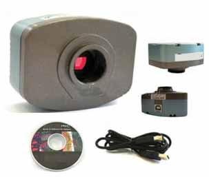 Câmera para microscopio Digital Colorida CMOS 1.3 MP