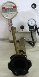 Calibrador de aparelhos de pressão com certificado RBC
