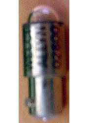 Lâmpada  02800 Halógena 2,5 volt para Oftalmoscópio Branco 19090 Welch Allyn
