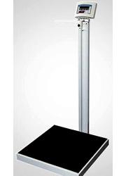Balança antropométrica Eletrônica Adulto com régua capacidade 300 kg WELMY