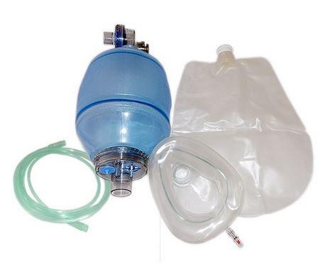 Ambu reanimador ressuscitador com reservatório de O2