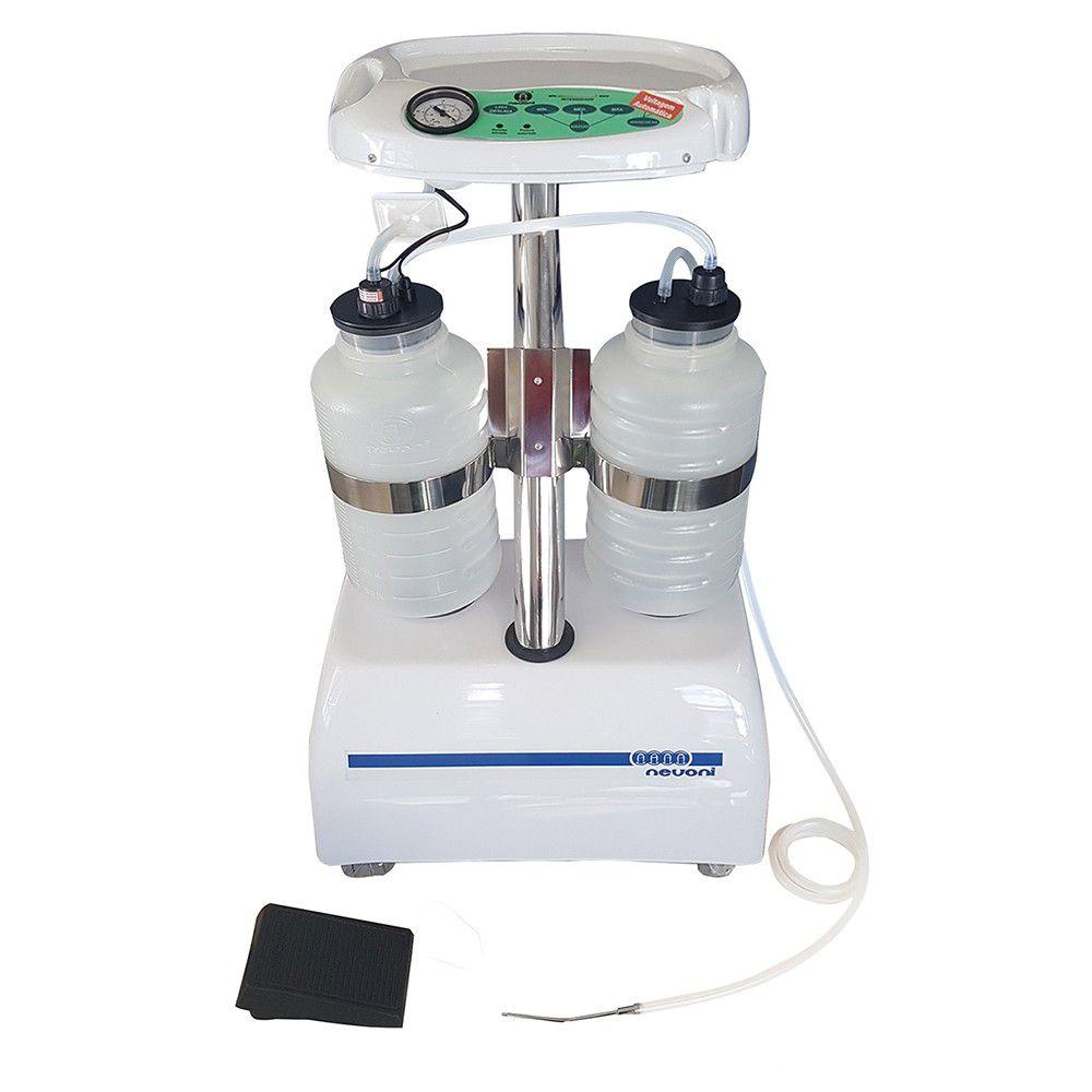 Aspirador cirúrgico capacidade 10 litros modelo MASTER