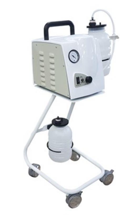 Aspirador cirúrgico capacidade 6,5 litros com pedestal