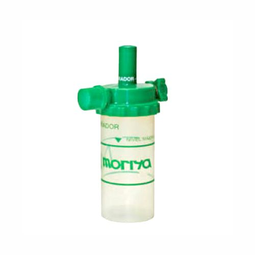 Aspirador para rede de O2 com tampa e frasco