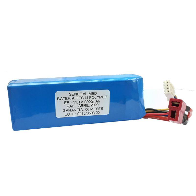 Bateria para desfibrilador  Life 400 Futura/ cardioversor VIVO CMOS DRAKE