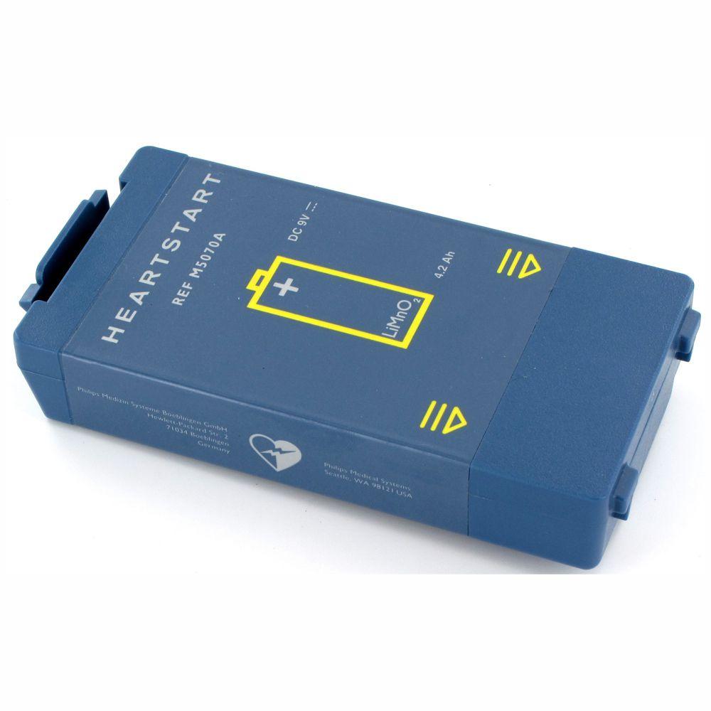 Bateria para desfibrilador Phlips modelo FRX e HS1  M5070A