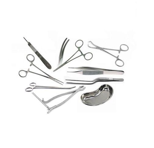 Conjunto de instrumentais para Apendicectomia