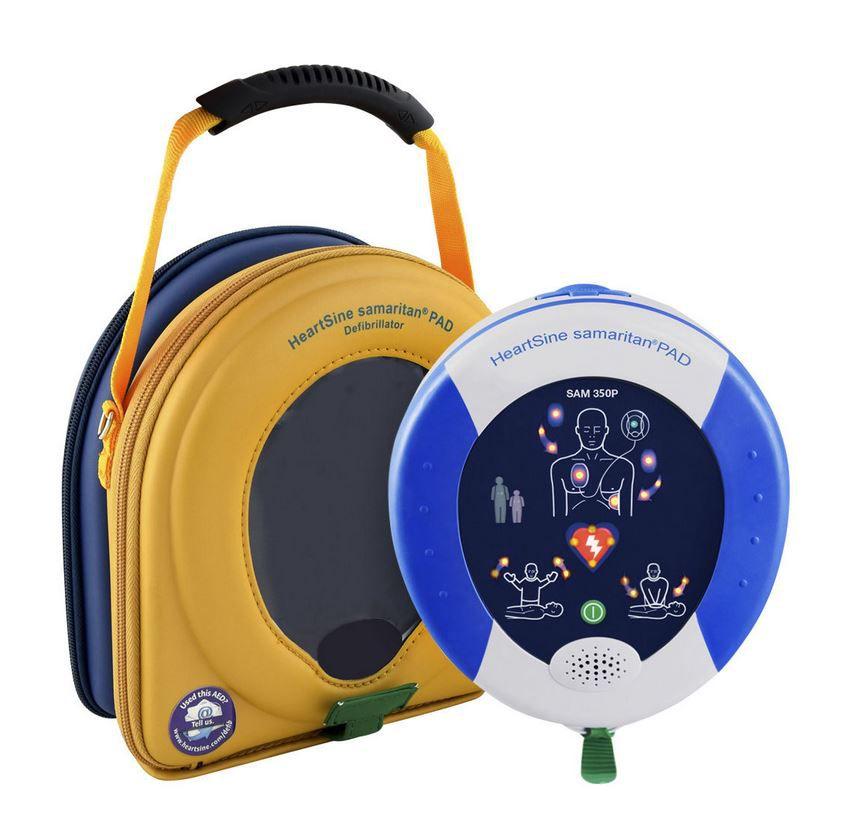 Desfibrilador Externo Automático DEA Samaritan PAD 350P frete gratis
