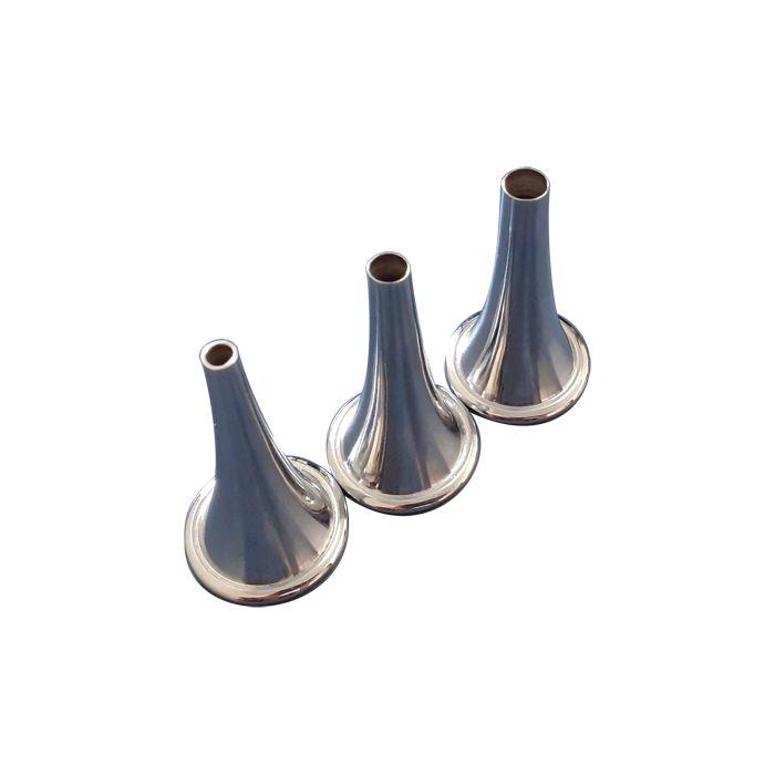 Espéculo Auricular Politzer em aço inox