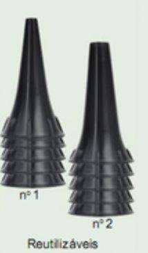 Espéculo para otoscópio Heine, Omni e mikatos com 10 unidades