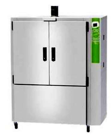 Estufa para secagem de materiais até 200ºC, capacidade 630 litros, com renovação e circulação de ar