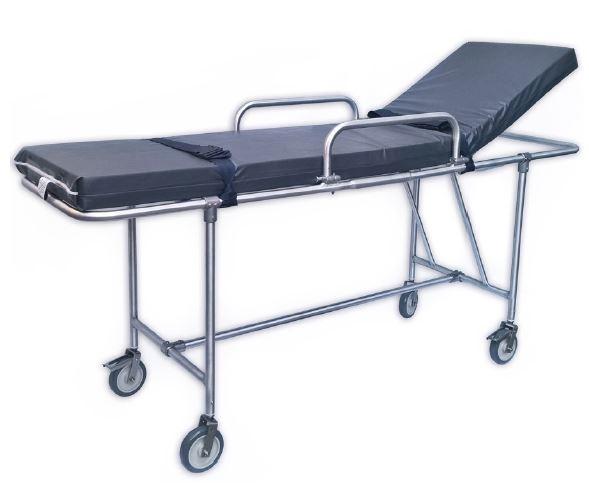 Maca para ressonância magnética, pacientes até 150Kg, totalmente em alumínio, acompanha colchonete SL
