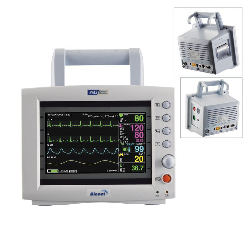 Monitor de Sinais Vitais Multiparamétrico - BM3