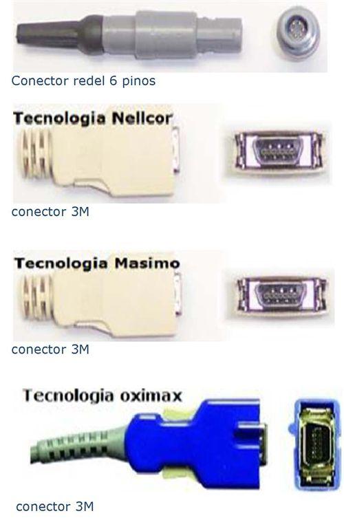 Sensor de oximetria compativel com Monitor OMNIMED