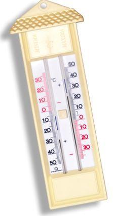 Termômetro de máxima e mínima analógico