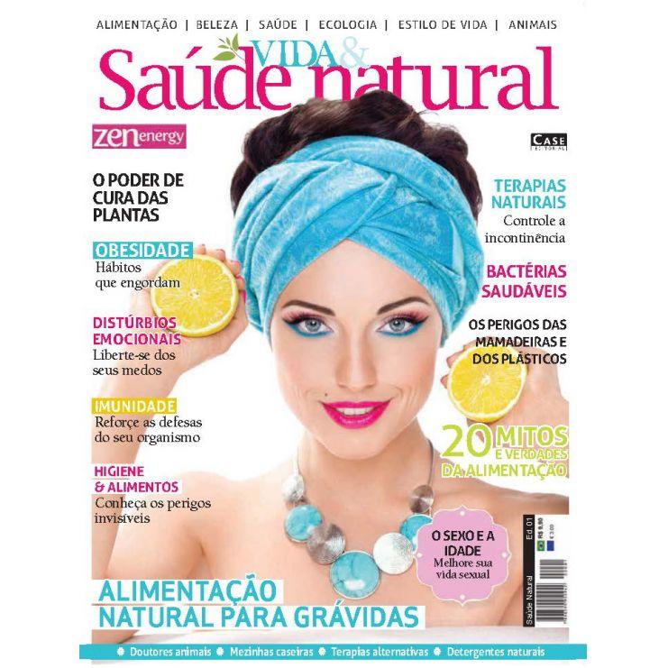 Saúde Natural - Edição 01  - Case Editorial