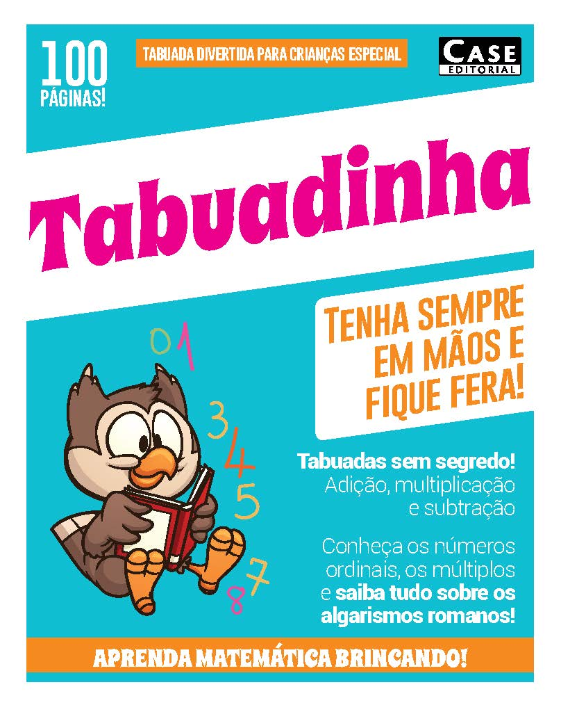Tabuada Divertida Para Crianças Especial - Edição 01  - Case Editorial