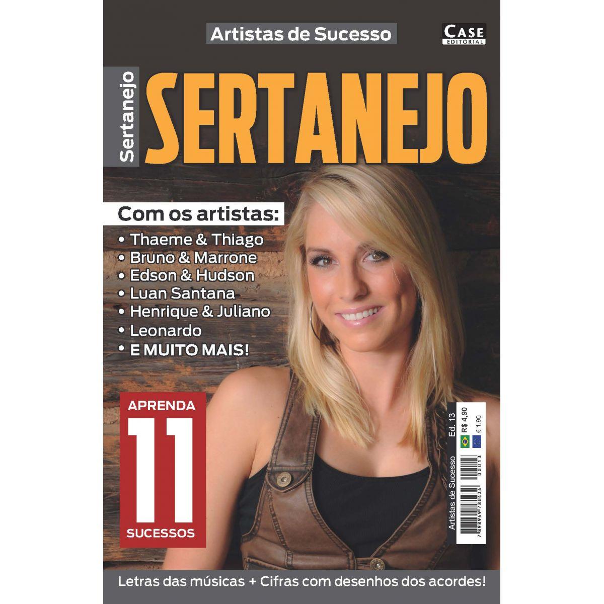Artistas de Sucesso - Edição 13  - Case Editorial