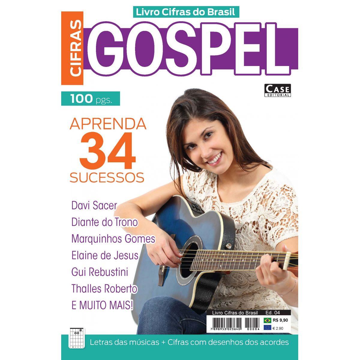 Livro Cifras do Brasil - Edição 04  - Case Editorial