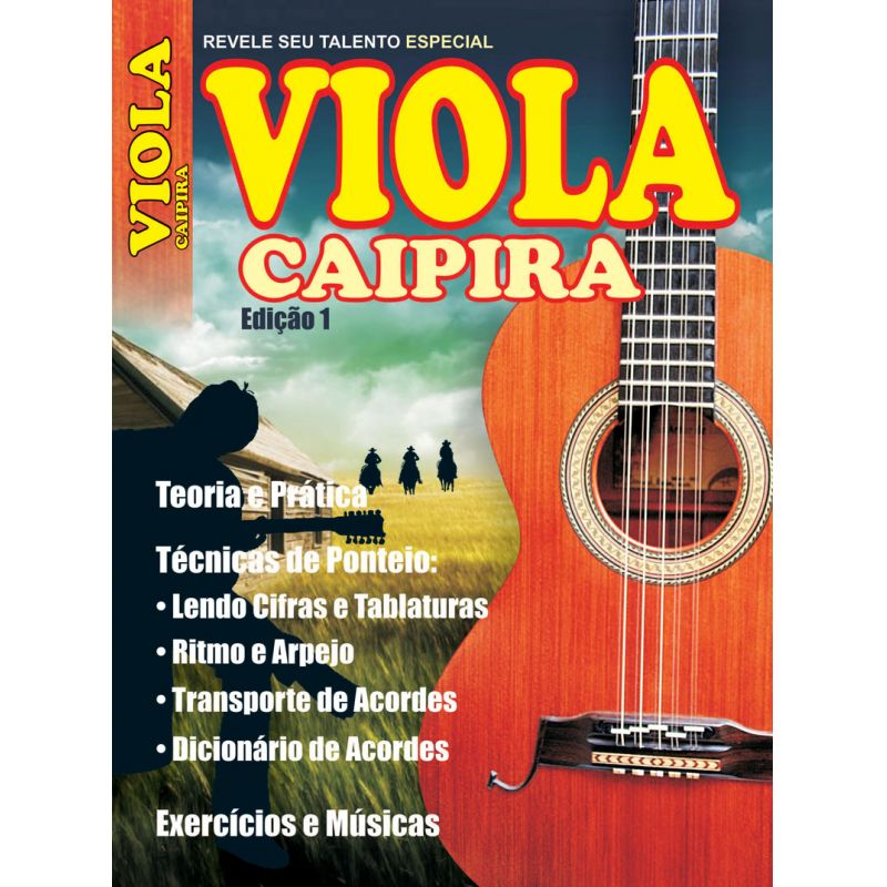 Revele Seu Talento Viola Caipira - Edição 01 - VERSÃO PARA DOWNLOAD  - Case Editorial