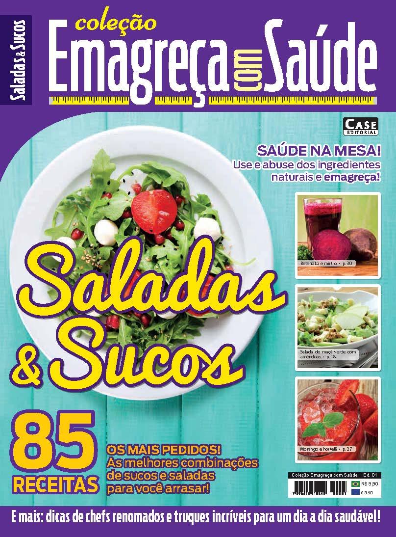 Coleção Emagreça Com Saúde - Edição 01  - Case Editorial