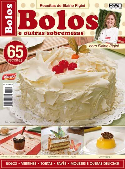 Receitas de Elaine Pigini - Escolha sua Edição - VERSÃO PARA DOWNLOAD  - Case Editorial