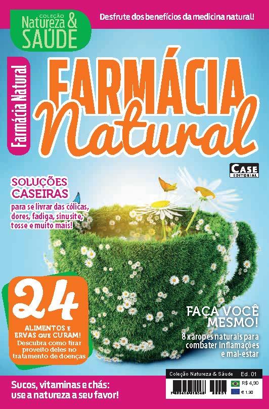 Coleção Natureza & Saúde - Edição 01  - Case Editorial