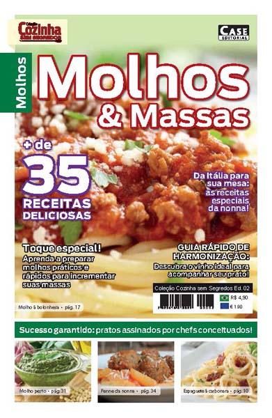Coleção Cozinha Sem Segredos - Edição 02  - Case Editorial