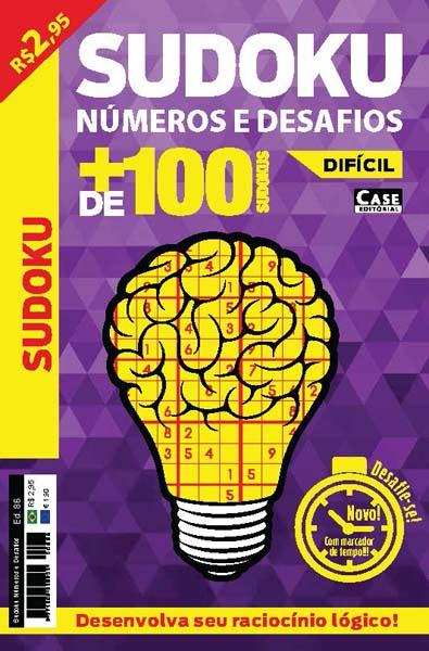 Sudoku Números e Desafios - Edição 86  - Case Editorial