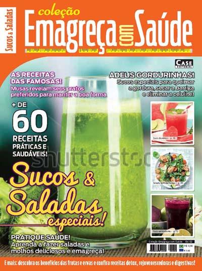 Coleção Emagreça Com Saúde - Edição 02  - Case Editorial