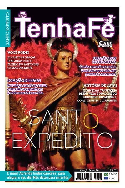 Coleção Tenha Fé - Edição 02  - Case Editorial